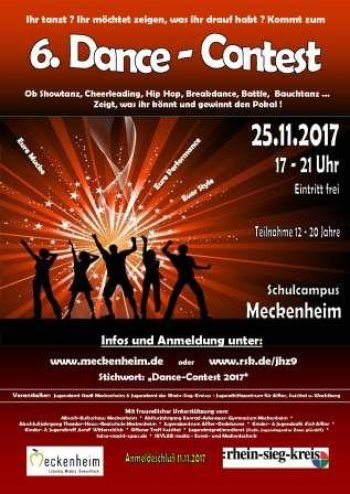 Dance Contest 2017 (Plakat)