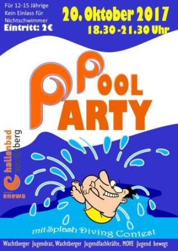 Pool Party (Plakat 2017)