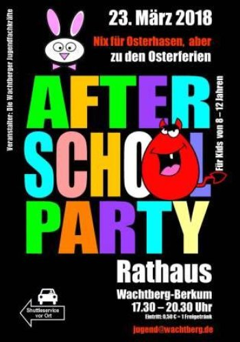 After School Party 23.03.2018 (Plakat)